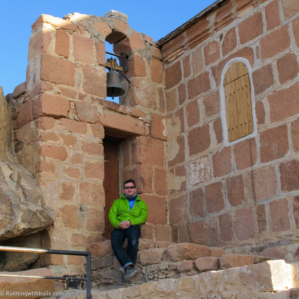 Christian church, Jabal Musa, Sinai Desert