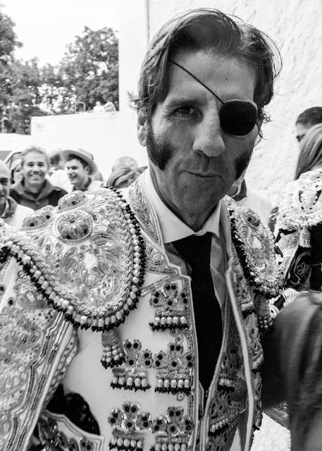 Picture of Juan José Padilla, Torero, in the Plaza De Toros, Pamplona, 7th July 2014