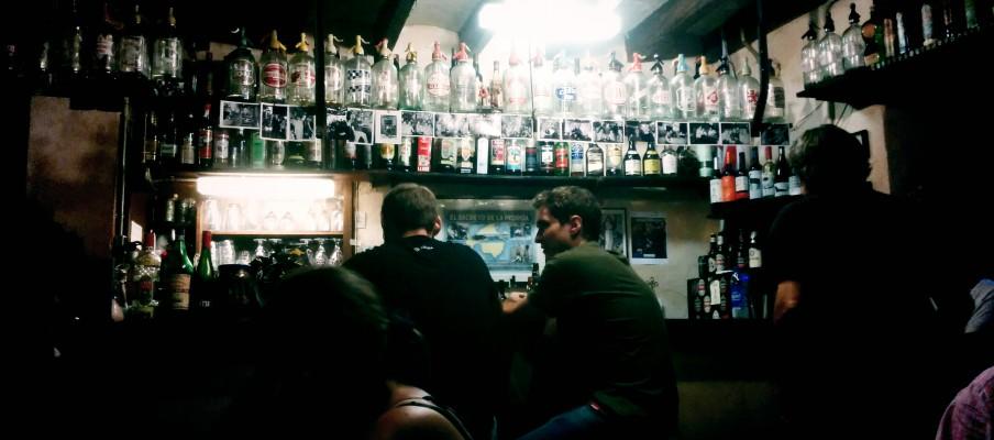 """A bar named """"El Bar Bosch"""" in Palma De Mallorca old town"""